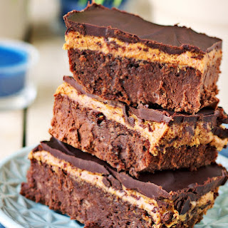 Buckeye Brownies [Vegan, Gluten-Free]
