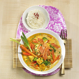 Carrot and Chicken Curry.