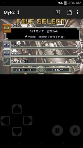MyBoid - GBA Emulator