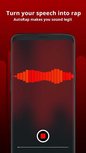 AutoRap by Smule – Make Raps on Cool Beats screenshot 1