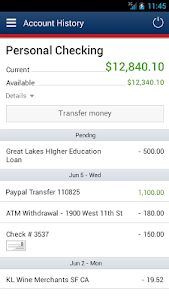 Bank of Internet Mobile App screenshot 0