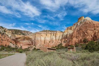 Photo: Famous Echo Amphitheater is just a few hundred miles from a slot cnayon; PEEC Slot canyons hike with Doug Scott