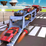 Car Transporter Flying Game 3D
