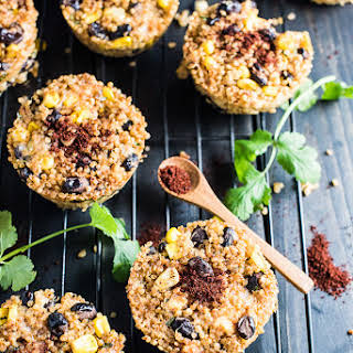 Healthy Southwest Quinoa Muffins.