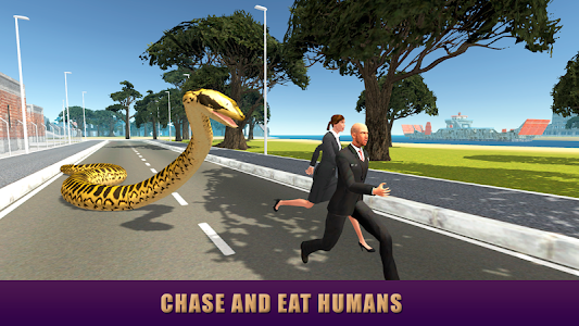 City Snake: Anaconda Simulator screenshot 1