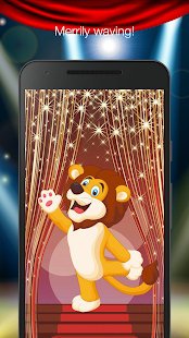 Circus lion live wallpaper - náhled