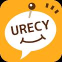 urecy グループでスケジュール共有 カレンダー共有アプリ icon