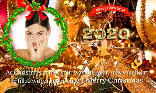 2020 Christmas New Year Greetings Photo Frames Apk 2