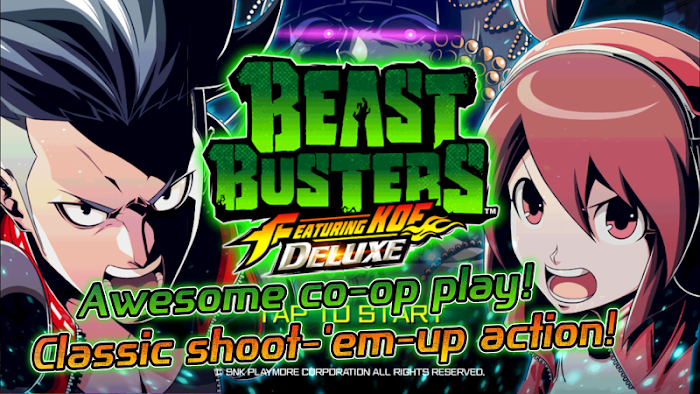 BEAST BUSTERS featuring KOF DX - screenshot