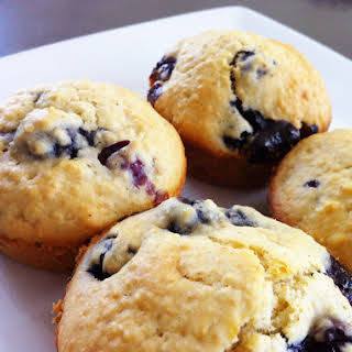 Blueberry Muffins With Dried Blueberries Recipes.