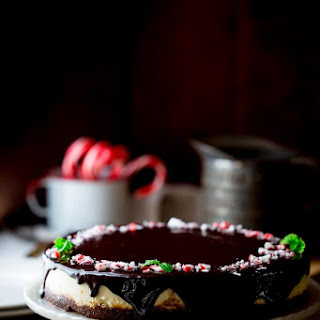 Peppermint Pattie Cheesecake.