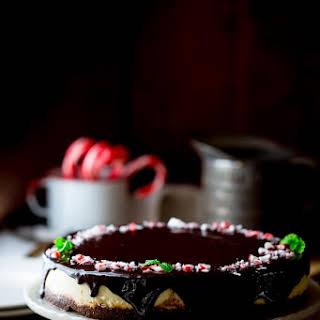 Peppermint Pattie Cheesecake.