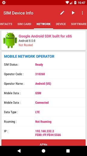 SIM Device Info 6.0 screenshots 3