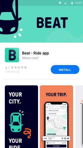 Beat na Play Store