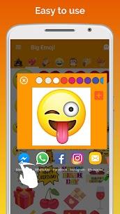 Big Emoji Mod Apk – large emoji for all chat messengers 3