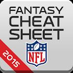 NFL Fantasy Cheat Sheet 2015 Icon