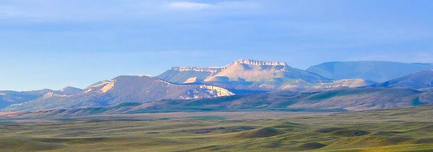 Photo: Morning sun on the Rocky Mountain Front near Augusta