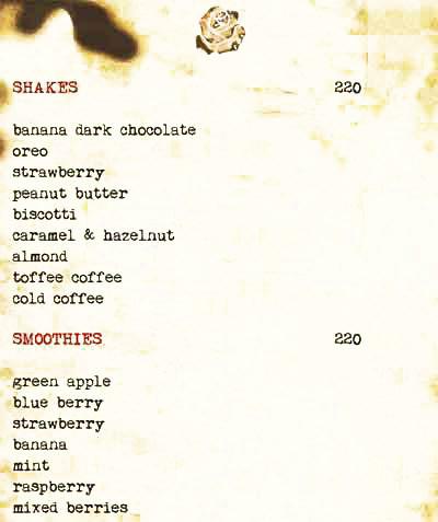 Cafe Illuminatii menu 12