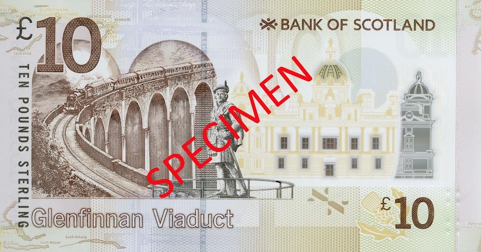 banknot, 10 funtów