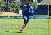 Kermit Erasmus during the Cape Town City FC media open day at Hartleyvale Training Grounds on January 24, 2019 in Cape Town, South Africa.