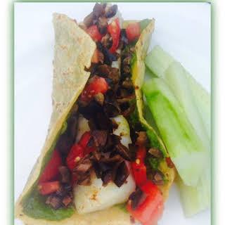 California-Mediterranean Fish Tacos.