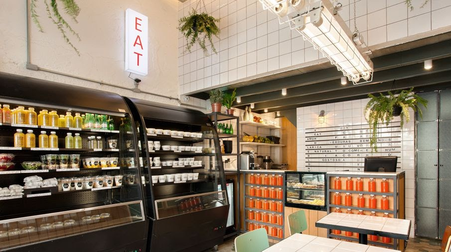 thiết kế quán ăn nhanh - thiết kế cửa hàng ăn nhanh 6