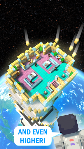 Tower Craft 3D - Idle Block Building Game modavailable screenshots 4