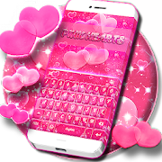 App Pink Hearts Keyboard Theme APK for Windows Phone