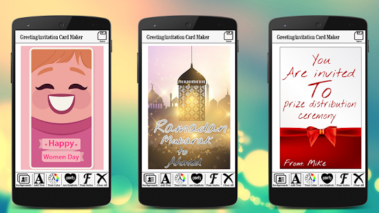 Greetinginvitation card maker apps on google play screenshot image stopboris Image collections