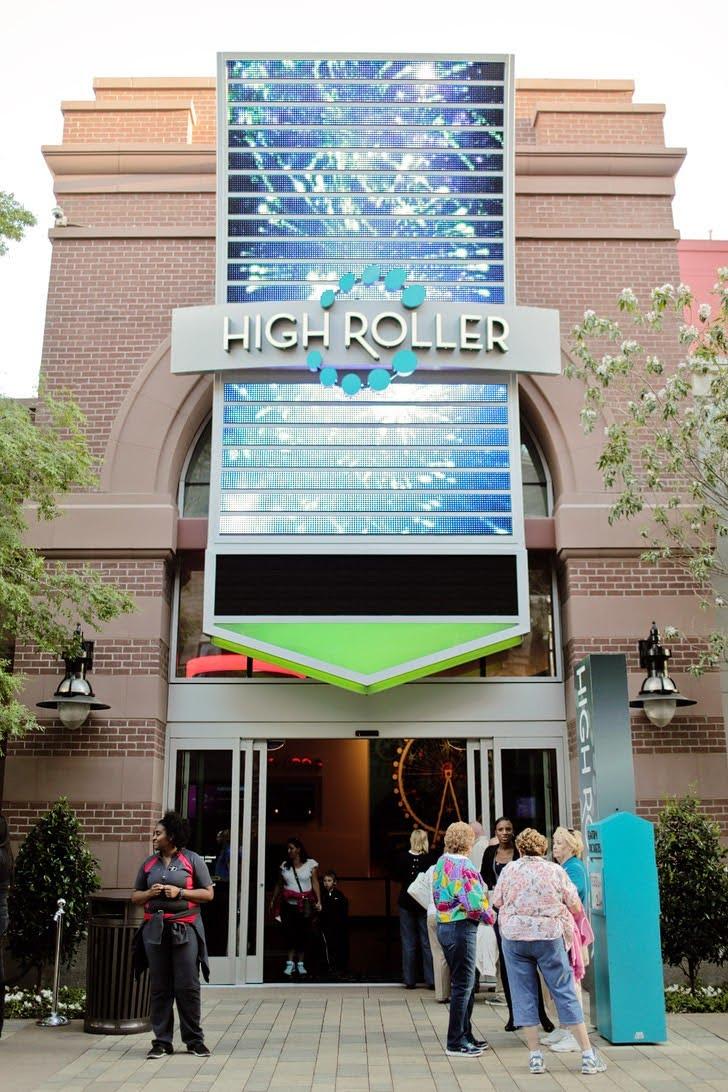 High Roller Wheel Las Vegas - Tallest Ferris Wheel in the World.