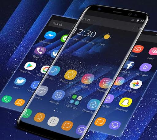 Theme for Samsung Galaxy S8 1.1.7 screenshots 1