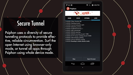 Psiphon Pro – The Internet Freedom VPN MOD Apk 255 (Unlocked) 5