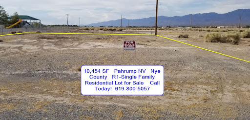 Pahrump NV - Residential Lot, Full Utilities Including SEWER