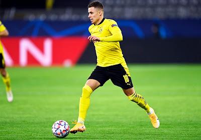Thorgan Hazard toujours à l'arrêt du côté de Dortmund
