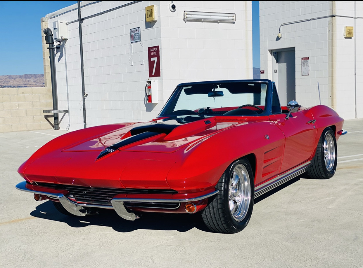 Chevrolet Corvette Hire Los Angeles