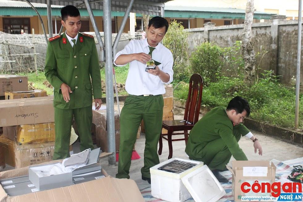 Công an huyện Hưng Nguyên tăng cường đấu tranh với các vi phạm trên lĩnh vực kinh tế
