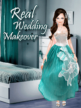 Real Wedding Salon Girl Makeup