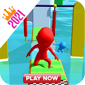 New Run Race Color 3D: Running Race Game icon