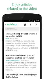 Watchup: Video News Daily Screenshot 6