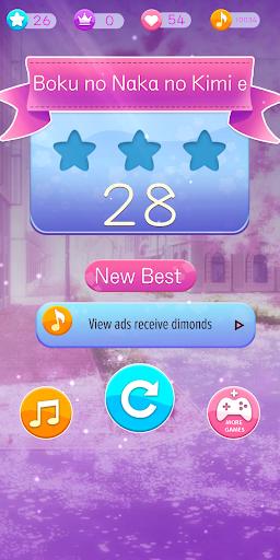 Anime Songs Piano Tiles - Pianist Rhythm Game screenshot 7