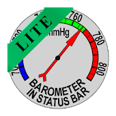 Barometer In Status Bar Lite