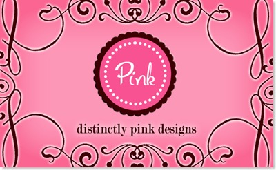 Pink Business card copy