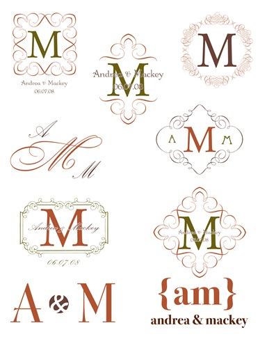 Andrea~ monograms copy