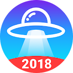 UFO Cleaner : Junk Clean + Task Killer & Booster icon