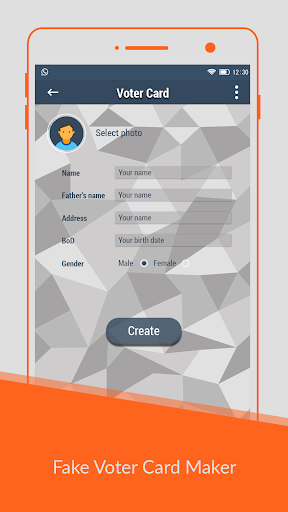 Voter id Card Maker Prank app (apk) free download for