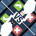 Math Reflex - 2 Player Duel icon