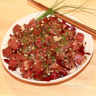 Ahi Poke (Hawaiian Tuna Tartare)