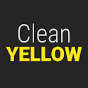 GO Contacts Clean Yellow icon