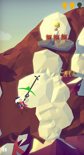 Screenshot for Hang Line: Mountain Climber in United States Play Store