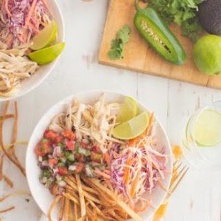 """Vegan """"Fish"""" Taco Bowl"""